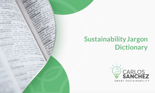 Sustainability Jargon Dictionary